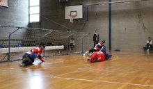 1st place for Slovenia at CRO OPEN in Goalball 2017