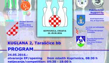 16th IBSA EC in Nine pin bowling open in Koprivnica
