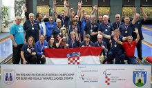 19th IBSA Nine pin bowling Zagreb 2019: 13 medal for Croatia